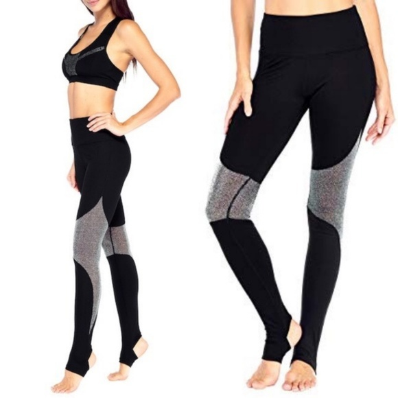a3abe04052421 Electric Yoga Pants | Sale Silver The Panther Stirrup Legg | Poshmark
